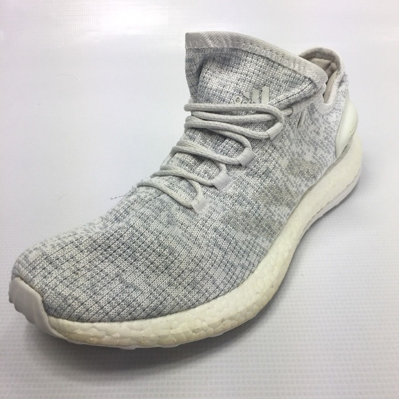 meet e6cd1 50cd7 adidas Other - ADIDAS Pure Boost Men s Gray Lace Up Sneakers 11.5